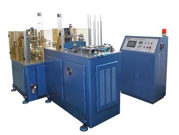 Porcellana Macchina eliminabile di produzione della tazza di carta di SSM-1100K 5kw, macchinario della manica della tazza di carta distributore