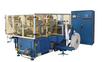 Porcellana Tazza di carta automatica ad alta velocità di orizzontale 150pcs/min di SCM-H a macchina/che fa macchinario con il sigillamento dell'aria calda distributore
